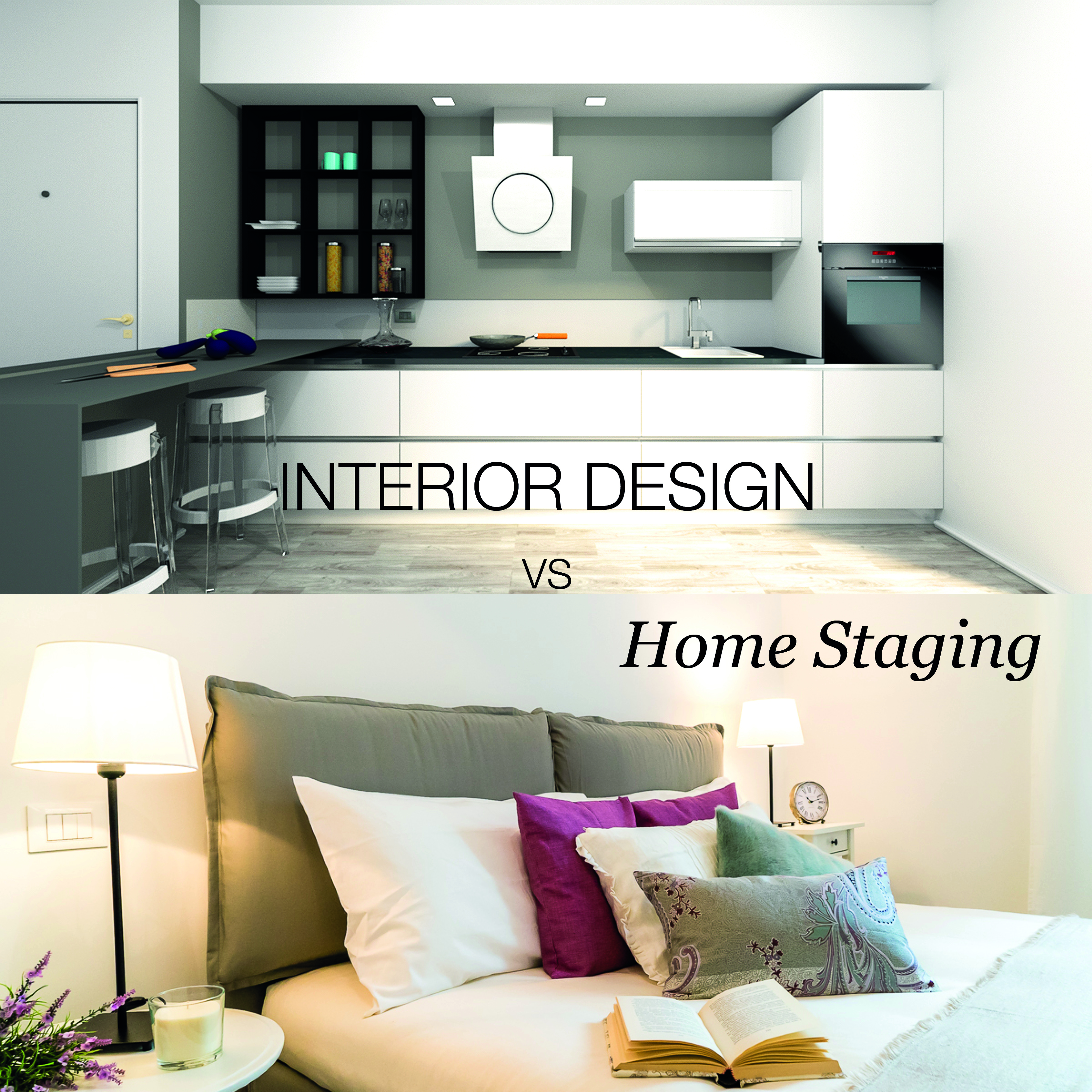 Interior Design Home Staging: Interior Design E Home Staging, Chiariamo Cosa Sono